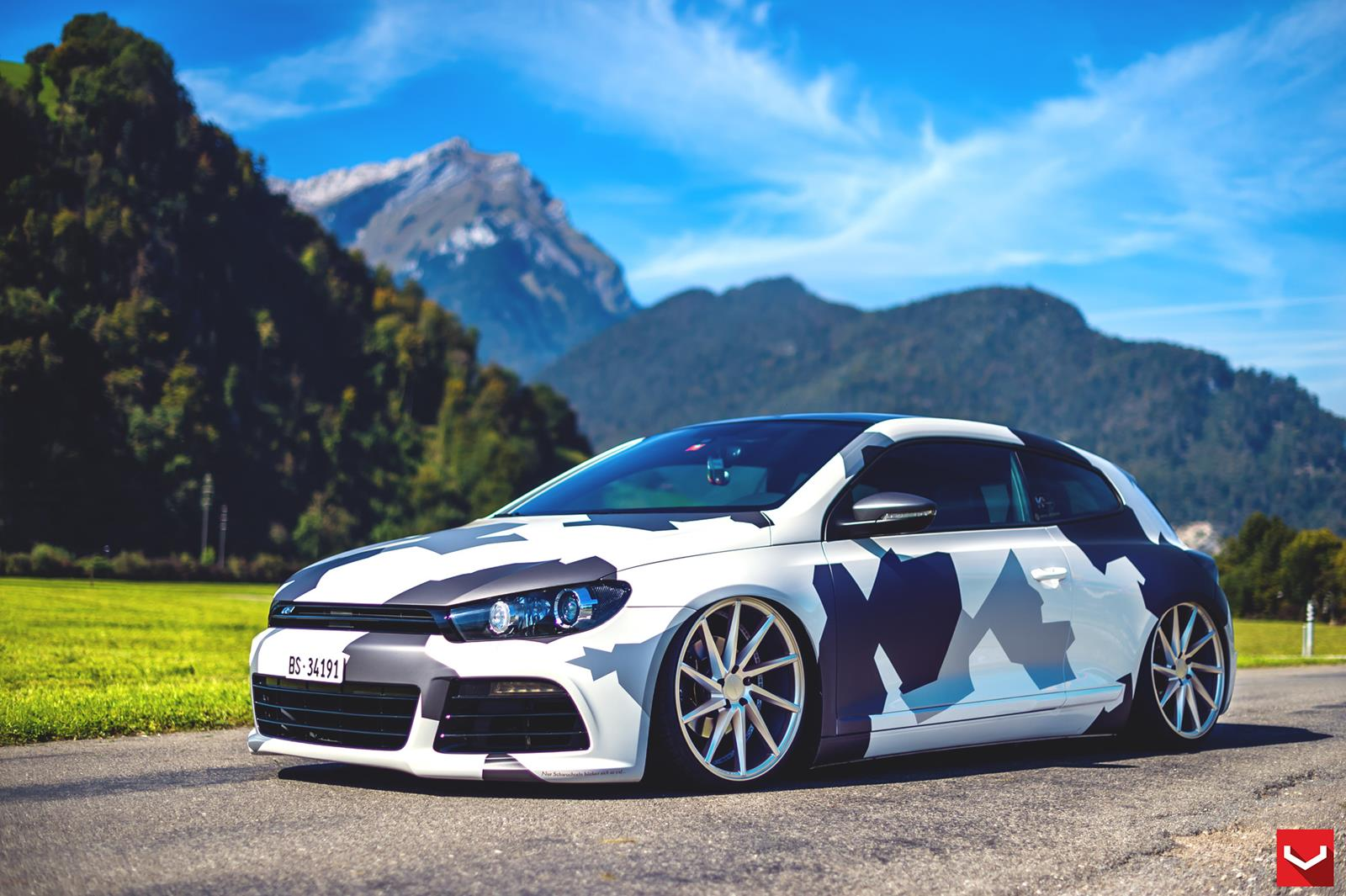 vw scirocco tuning pictures vw tuning mag. Black Bedroom Furniture Sets. Home Design Ideas