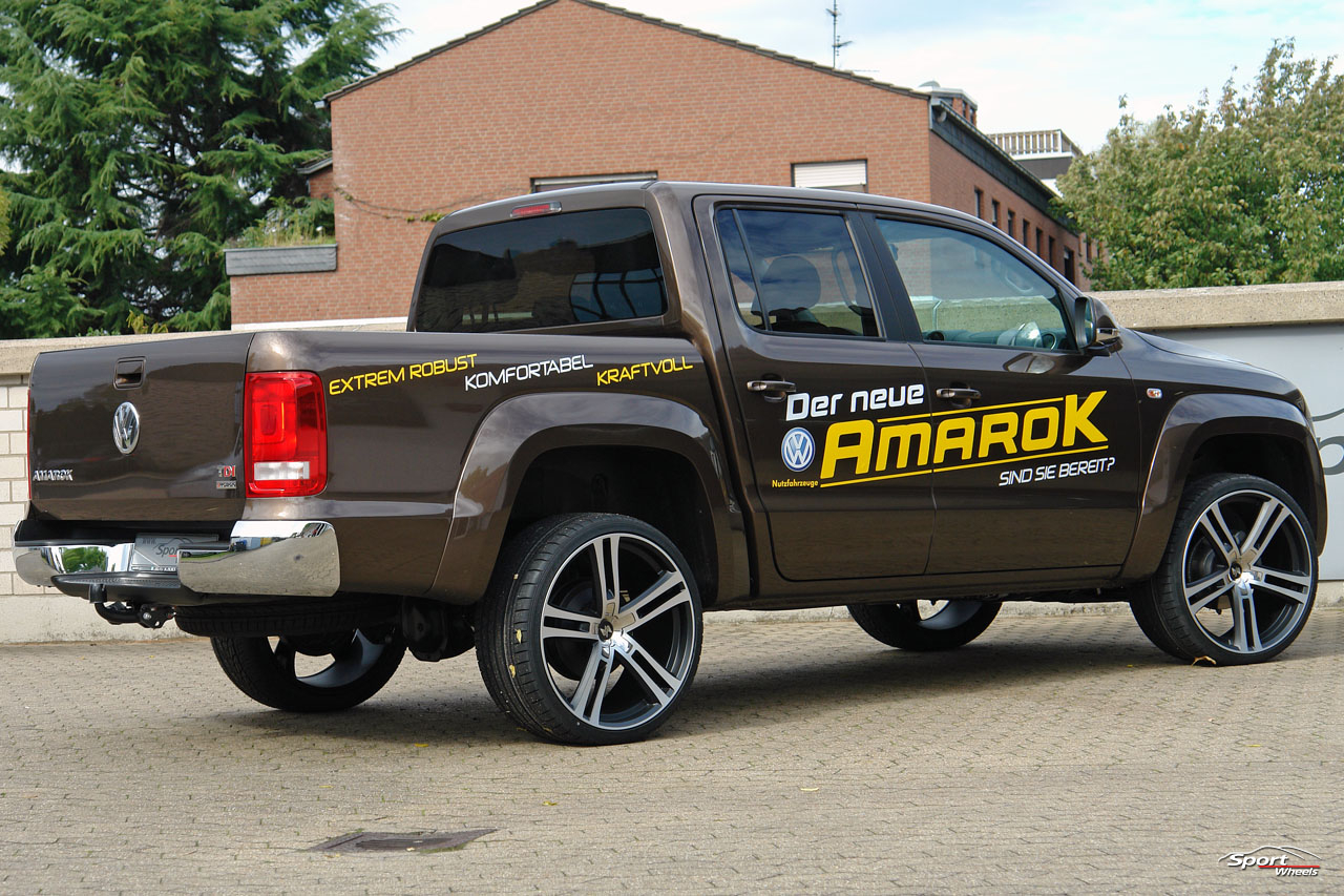 volkswagen amarok tuning tunada 2011. Black Bedroom Furniture Sets. Home Design Ideas