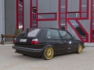 black-vw-golf2-golden-ATS-wheels
