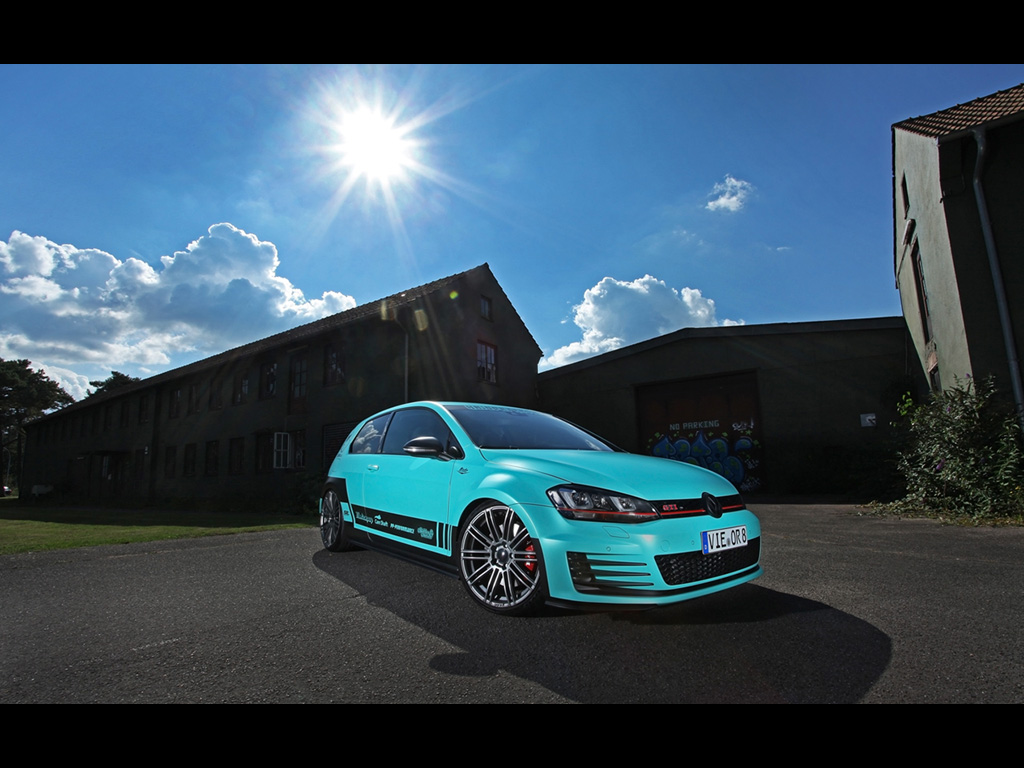 vw golf mk7 tuning pictures vw tuning mag. Black Bedroom Furniture Sets. Home Design Ideas
