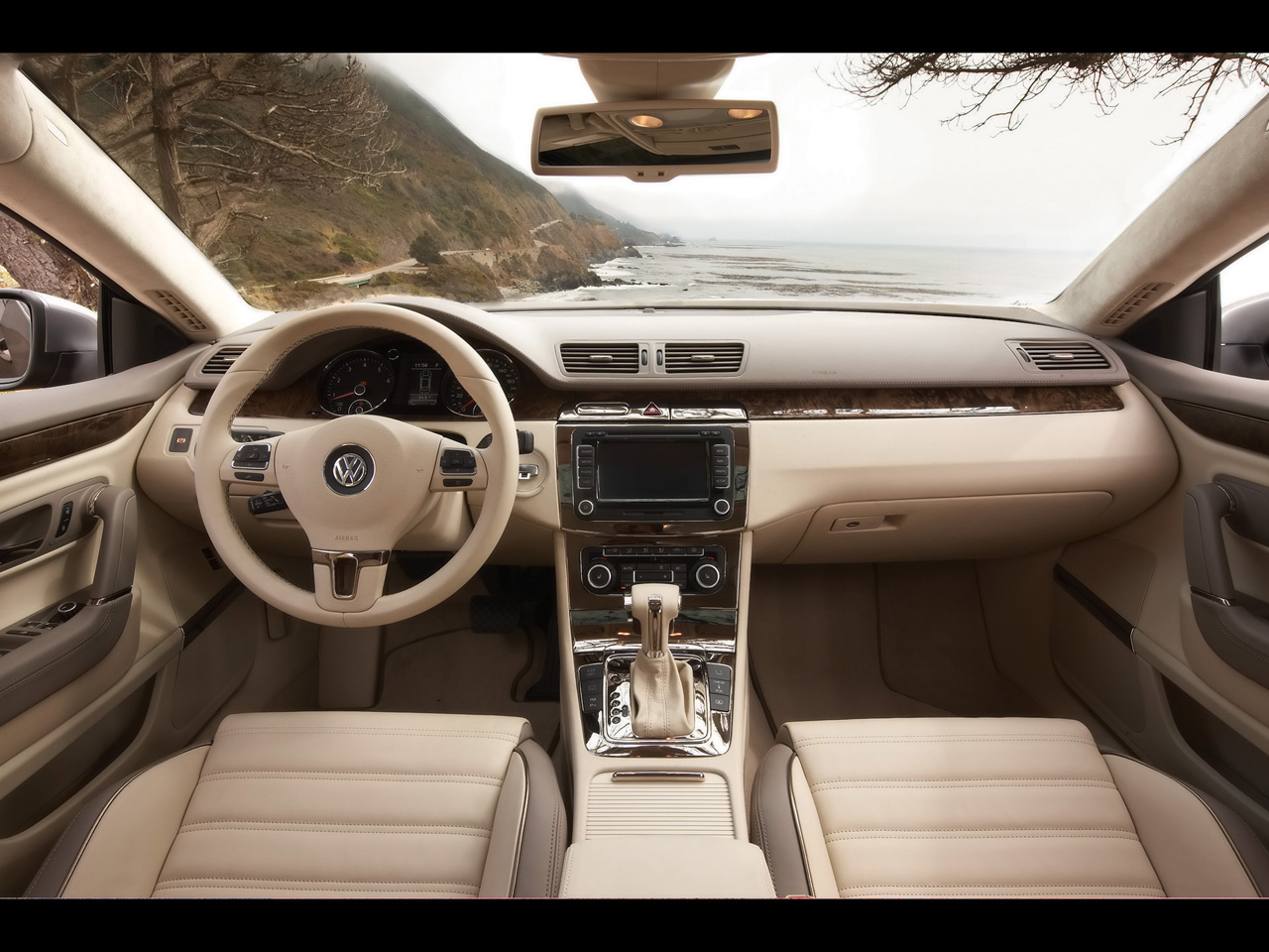 interior review img sel vw passat volkswagen truth cars the about cc