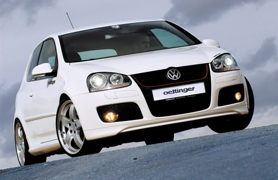 golf5 30j front 550x356 OETTINGER Programme for the Golf GTI Edition 30