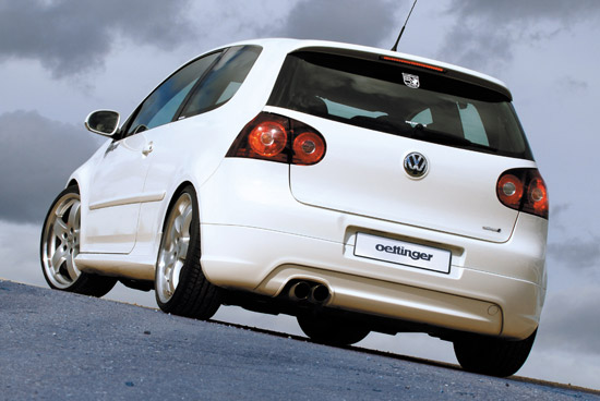 golf5 30j heck OETTINGER Programme for the Golf GTI Edition 30