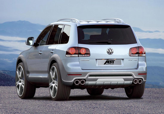 abt touareg Abt Touareg – facelift for the heavy weight from Kempten