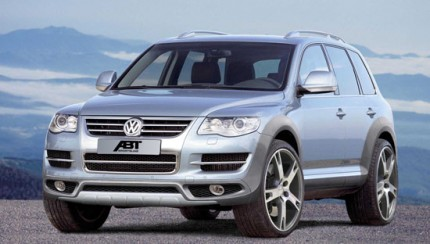 abt touareg front 430x244 Abt Touareg – facelift for the heavy weight from Kempten