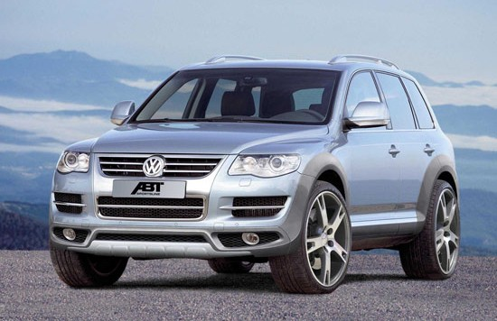 abt touareg front 550x356 Abt Touareg – facelift for the heavy weight from Kempten
