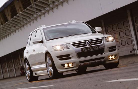 je design vw touareg 550x356 The new VW Touareg Facelift from JE DESIGN