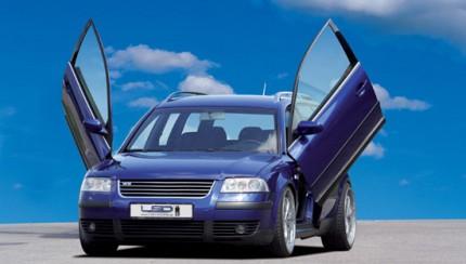 lsd vw passat 3bg 430x244 LSD wing doors now for VW Passat 3BG Station Wagon