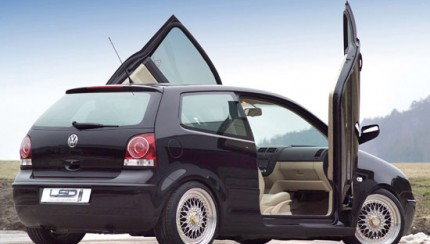 lsd vw polo 9n back 430x244 LSD wing doors now VW Polo 9N