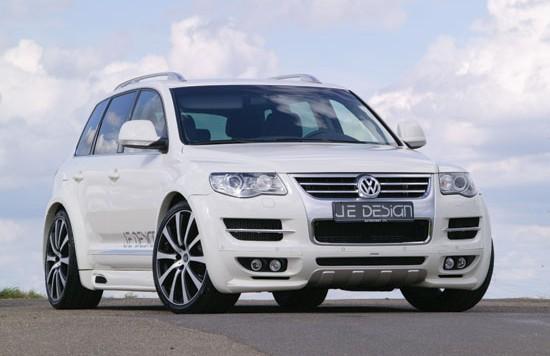 jedesign vw touareg facelift 550x356 Wider luxury dream car: VW Touareg (Facelift)