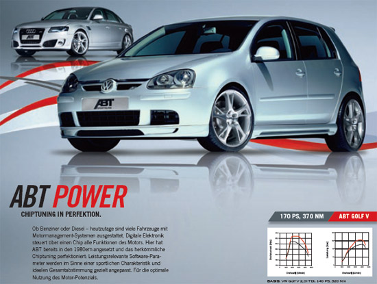 abt power r ABT Power, ABT Power S and ABT Power R