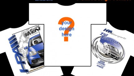 tshirt contest graphic 430x244 HPA Motorsports T Shirt Contest