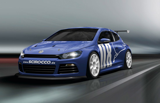 racing vw scirocco 1 The Scirocco GT24 with 325 PS