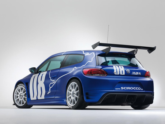 racing vw scirocco 2 The Scirocco GT24 with 325 PS