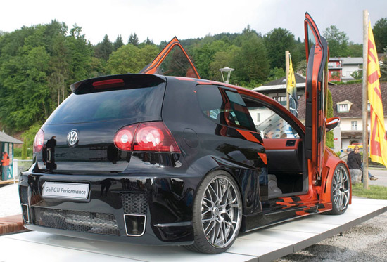vw tunning gti Volkswagen GTI Performance Concept