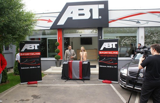 abt ungary 550x356 ABT Sportsline: New presence in Hungary