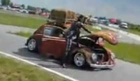 ratstyle 280x161 VW Garbus rat style   beetle with porsche engine