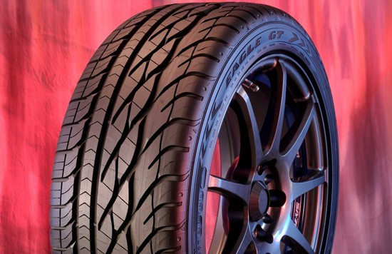 eagle gt 550x356 Eagle GT is Goodyear's Latest High Performance Tire