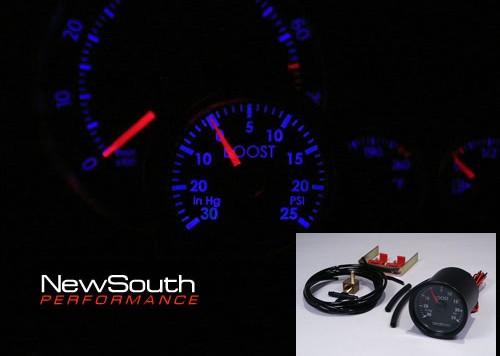indigo gauges 500x356 Indigo™ Gauge family by NewSouth Performance