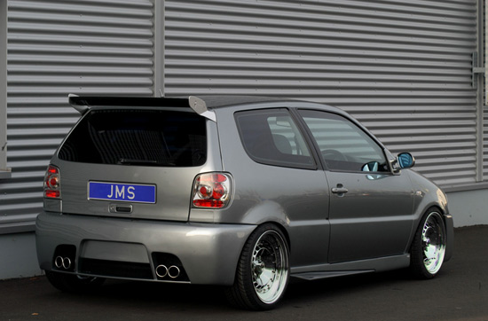 vw polo jms tuning JMS Facelift for VW Tuning Polo 6N Racelook