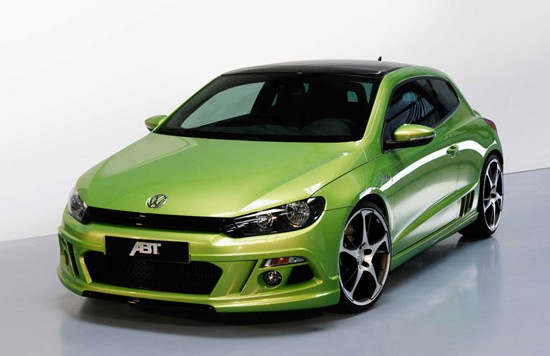 vw scirocco abt 1 550x356 ABT Scirocco: more dynamics for the sports coupe