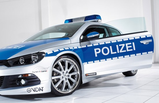 vw scirocco tune it safe police 550x356 Scirocco Tune It! Safe!