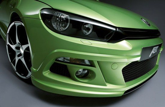 abt scirocco front 550x356 Performance increase for the Scirocco