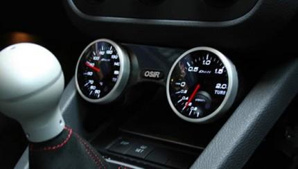 gti carbon gauge pod 430x244 OSIR Design O Pod Dual Gloss Carbon