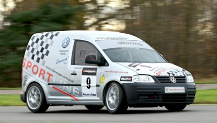 vw caddy racer 430x244 VW Caddy Racer to Return to the Track in 2009