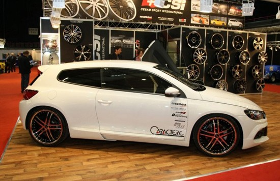scirocco by caractere 550x356 Caractere bodykit for the Scirocco