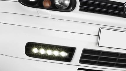 daydrive lights 430x244 Golf 4 LED daydriving light kits
