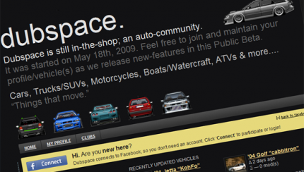 dubspace 430x244 A social network for Volkswagen owners!