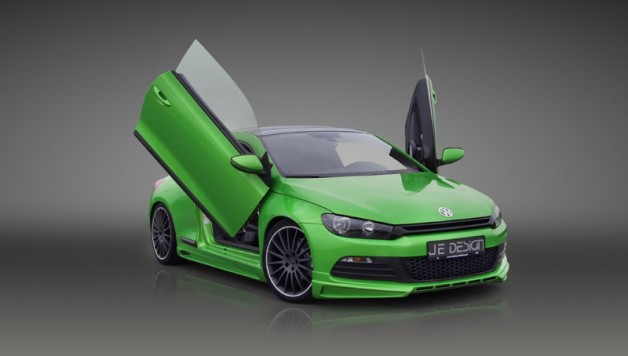 JE DESIGN Scirocco LSD doors 628x356 JE DESIGN sport programme for the VW Scirocco