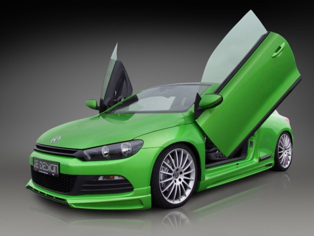 JE DESIGN Scirocco sideskirts 628x471 JE DESIGN sport programme for the VW Scirocco