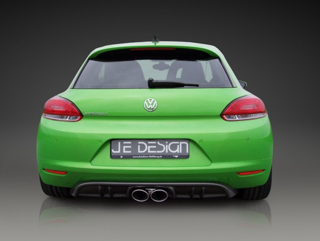 Scirocco rear difusor 628x474 JE DESIGN sport programme for the VW Scirocco