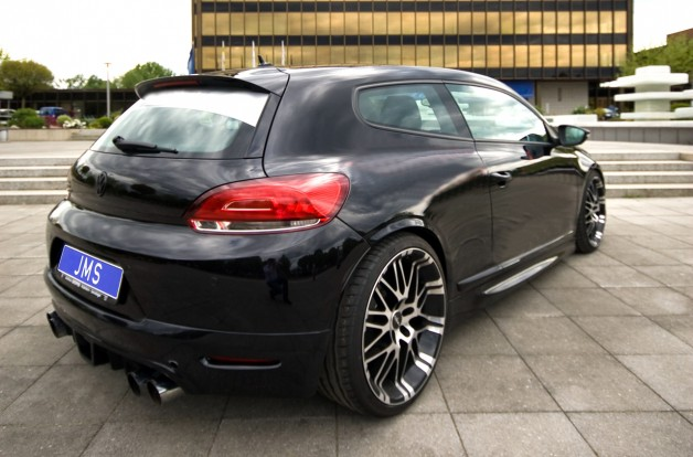 JMS scirocco 1 628x414 JMS VW Scirocco with some changes