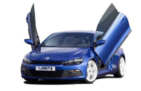 LSD VW Scirocco 550x356 LSD gull wing door plates for VW Scirocco