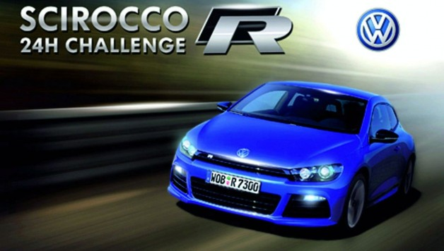 VW scirocco iphone 24hchallenge 628x356 VW Scirocco R 24h challenge   iPhone App Free Download