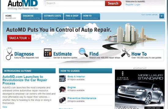 automd 550x356 AutoMD – Groundbreaking New Online Auto Repair