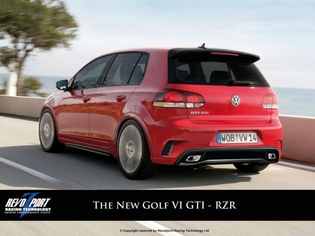 golf gti rzr back 628x471 Golf GTI RZR by Revozport