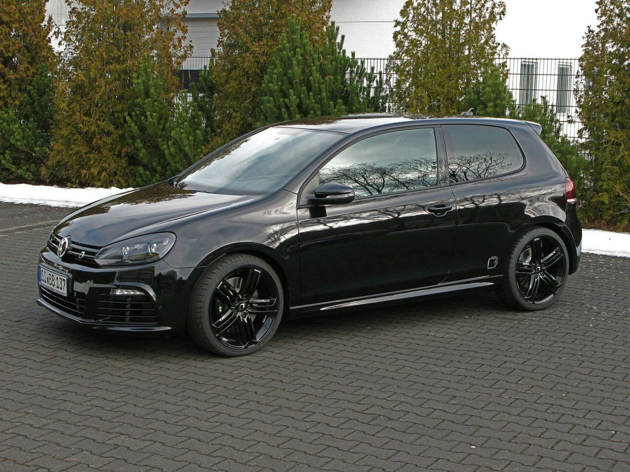 vw golf r tuning bb 1 vw tuning mag. Black Bedroom Furniture Sets. Home Design Ideas