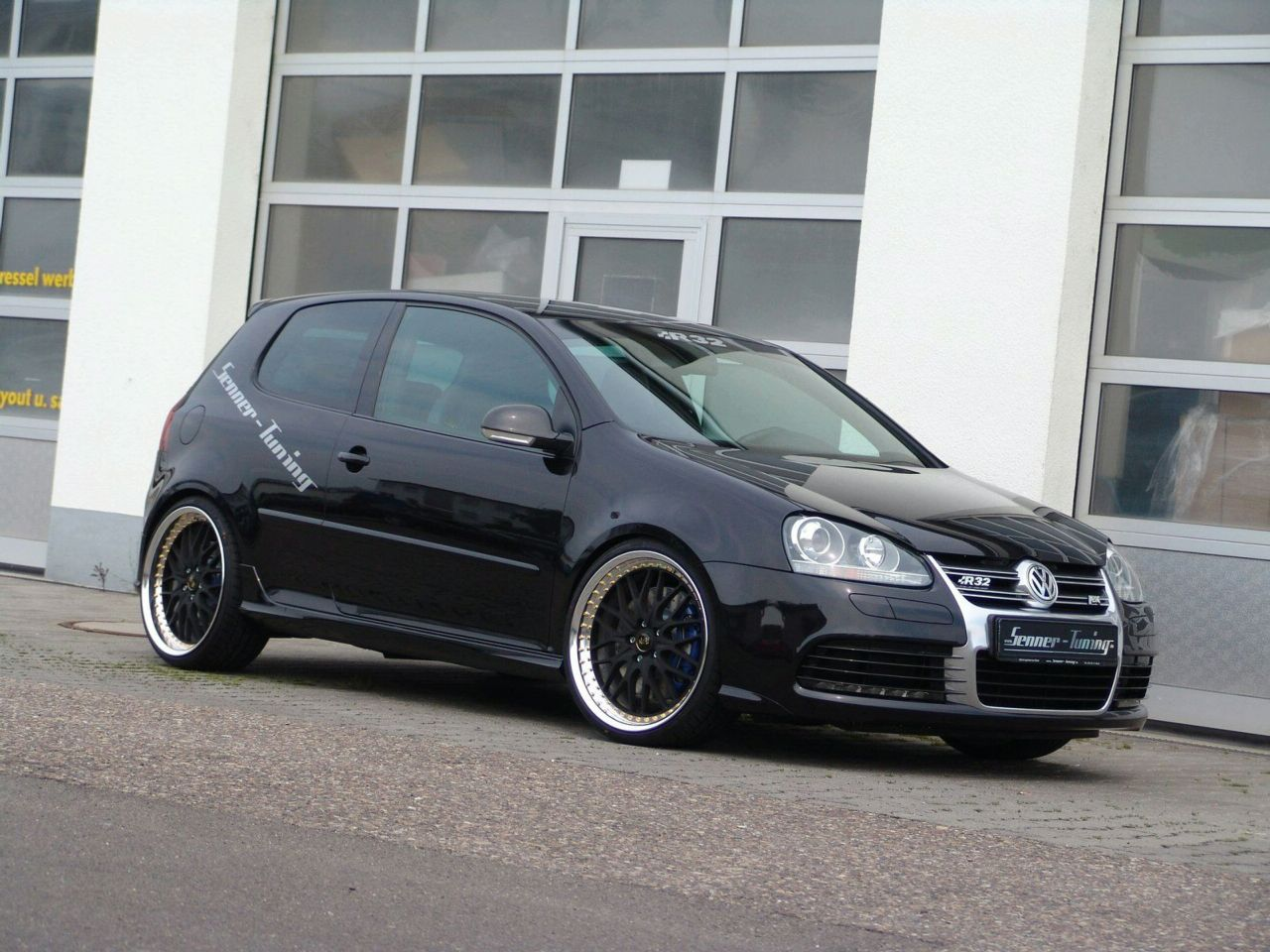 vw golf r32 tuning 1 vw tuning mag. Black Bedroom Furniture Sets. Home Design Ideas