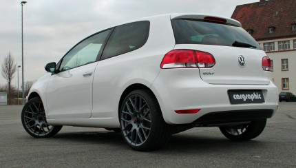 VW Golf VI IS ONE  rear 430x244 Cargraphic presents the IS ONE wheel for the Golf VI