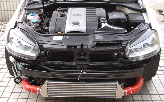 forge twintercooler kit golf VW Golf GTi Mk5 Front Mount Twintercooler Kit
