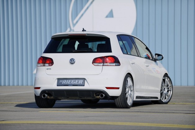 vw golf mk6 rieger 8 628x418 VW Golf GTI Styling by Rieger