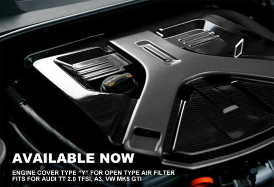 TID enginecover Carbon fiber engine cover