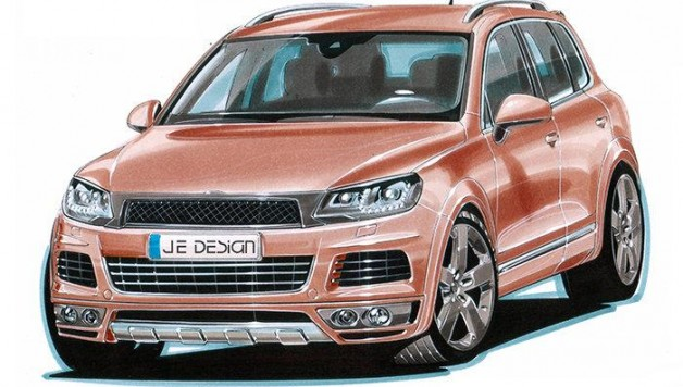 je design touareg 1 628x356 JE Design widebody VW Touareg