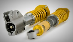 ohlins suspension1 280x161 Öhlins coilovers for VW Golf V