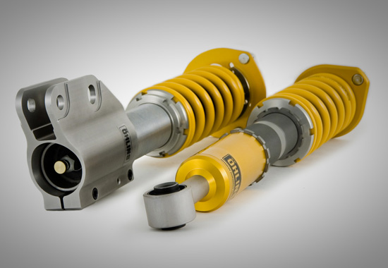 ohlins suspension1 Öhlins coilovers for VW Golf V