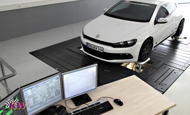 scirocco kw 5 628x381 KW suspension Volkswagen Scirocco 2.0 TSI